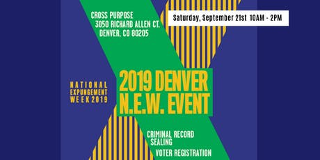 Denver N.E.W. Event - National Expungement Week 2019 tickets