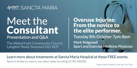 Meet The Consultant - Mark Ridgewell tickets