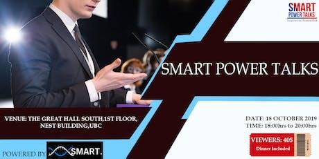 SMART POWER TALKS tickets