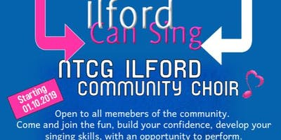 *Love to sing? Come & join an exciting Community Choir