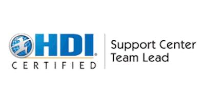 HDI Support Center Team Lead 2 Days Virtual Live Training in Stuttgart