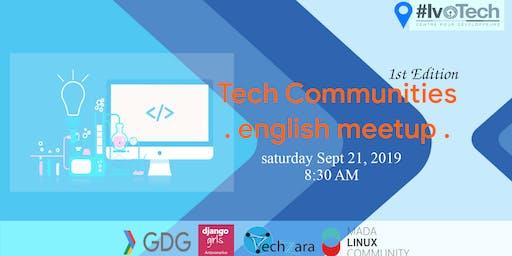 Tech Communities | English Meetup