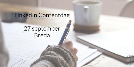 LinkedIn Contentdag  tickets