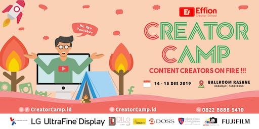 [PAID EVENT] Creator Camp : Belajar menjadi Content Creator (Menginap 2D1N)