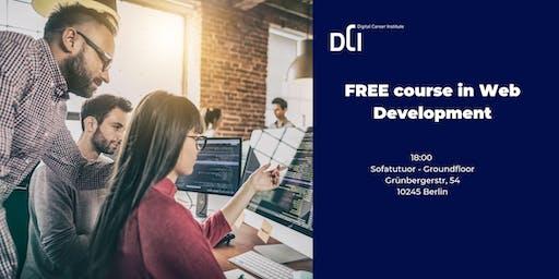 Berlin: FREE course in Web Development