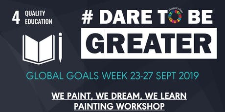 We paint, we dream, we learn painting workshop tickets