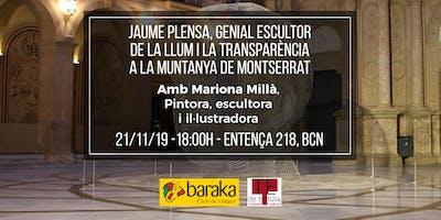 Jaume Plensa, genial escultor de la llum i la transparència.