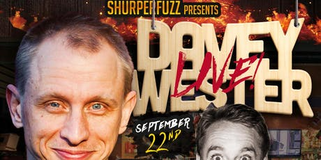 The Hood Bar & Pizza Comedy Night: DAVEY WESTER Sun. Sep 22nd tickets