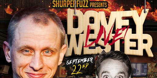 The Hood Bar & Pizza Comedy Night: DAVEY WESTER Sun. Sep 22nd