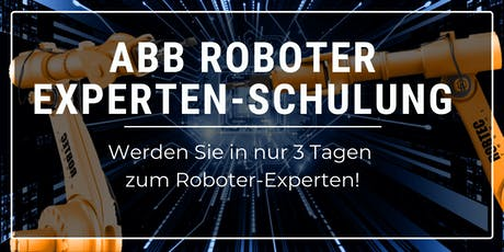 ABB Roboter Expertenschulung - 3 Tage Tickets
