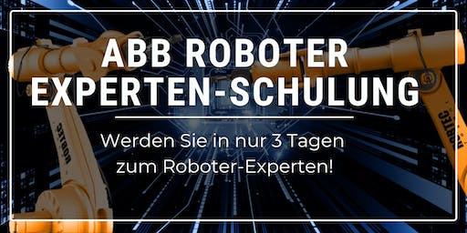 ABB Roboter Expertenschulung - 3 Tage