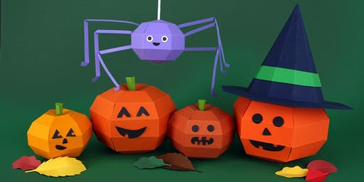 Halloween Papercraft Workshop, BAM GLASGOW, SOUTHSIDE
