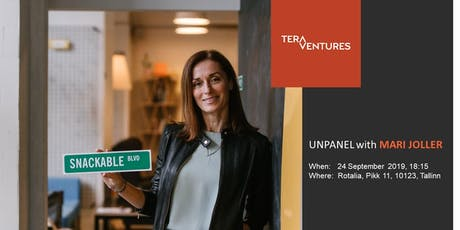 Invitation to Tera Ventures Unpanel - Mari Joller, Snackable AI tickets