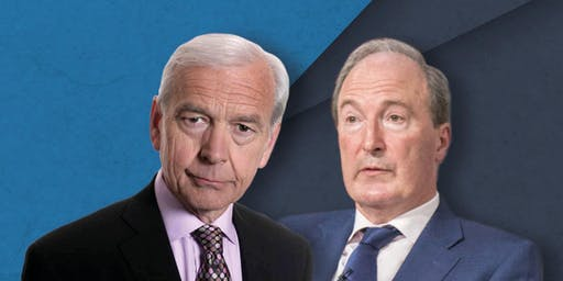 In conversation: Charles Moore and John Humphrys