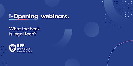 Webinar: What the heck is legal tech?