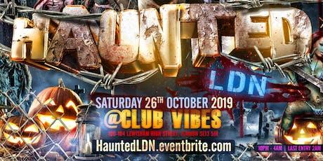 Haunted LDN tickets