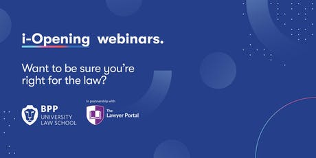 Webinar: Want to be sure you are right for the law? tickets