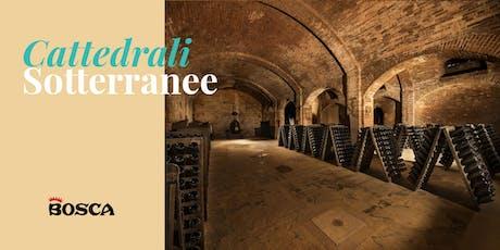 Tour en français - Cathédrales Souterraines Bosca le 8 octobre à 14 h biglietti