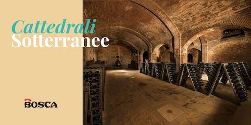 Tour en français - Cathédrales Souterraines Bosca le 8 octobre à 14 h