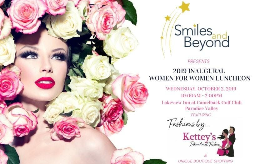 Smile and Beyond 2019 Inaugural Women to Women Luncheon