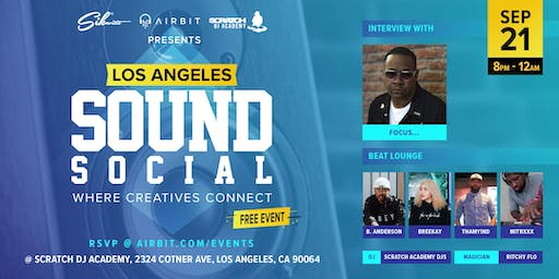 Sound Social: Los Angeles - Where Creatives Connect