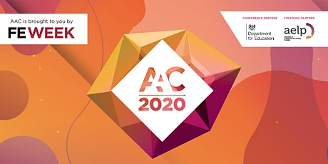 FE Week Annual Apprenticeship Conference (AAC) 2020 tickets