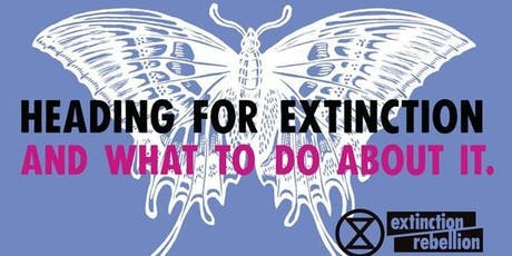 Heading for Extinction and what to do about it - talk and discussion. tickets