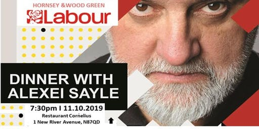 Fundraising Dinner with Alexei Sayle Get Labour into Power