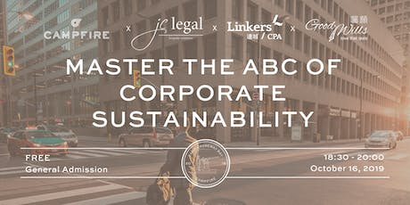 Master the ABC of Corporate Sustainability tickets