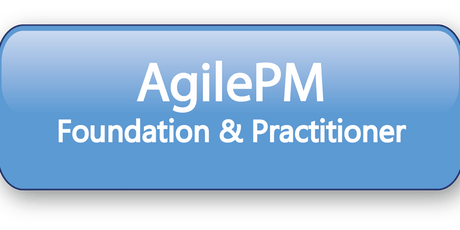 Agile Project Management Foundation & Practitioner (AgilePM®) 5 Days Virtual Live Training in Hong Kong tickets