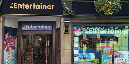 Building The Entertainer: From a single store to a £multi-mil business