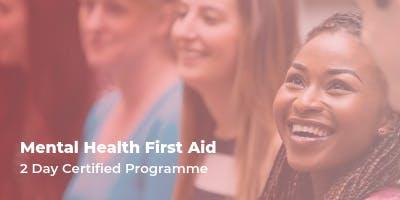 Mental Health First Aid - 2 day workshop