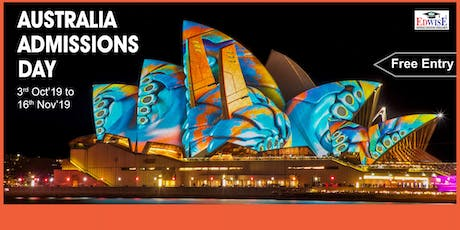 AUSTRALIA ADMISSIONS DAY IN COIMBATORE tickets