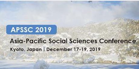 APSSC 2019 The 7th Asia-Pacific Social Science Conference  tickets