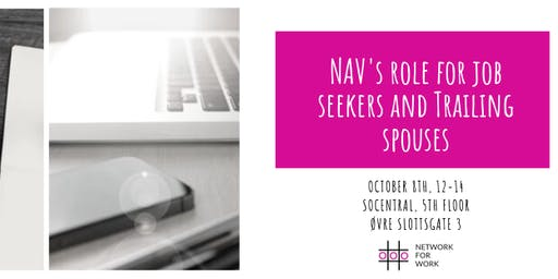 NAV's role for job seekers and trailing spouses - Newcomers