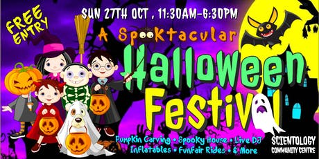 A SPOOKTACULAR HALLOWEEN FESTIVAL in South Dublin - Free Entry tickets