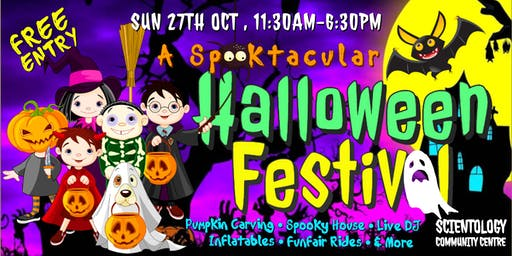 A Spooktacular Halloween Festival - over 5,000 treats to give away!