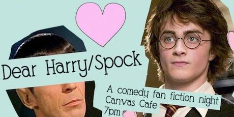 Dear Harry/Spock  tickets