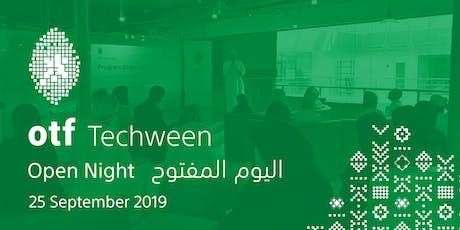 otf Techween - Open Night September 2019 tickets