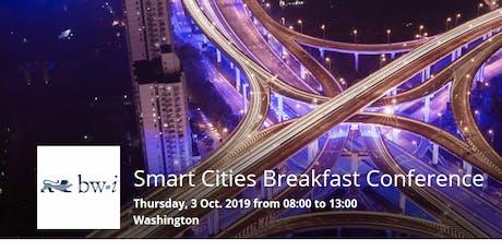 Smart Cities Breakfast Conference - Smart Cities & Resilient Infrastructure tickets