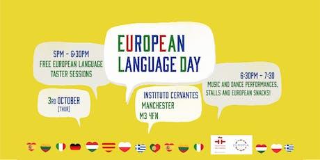 European language day tickets