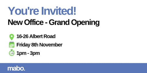 Mabo - New Office Grand Opening