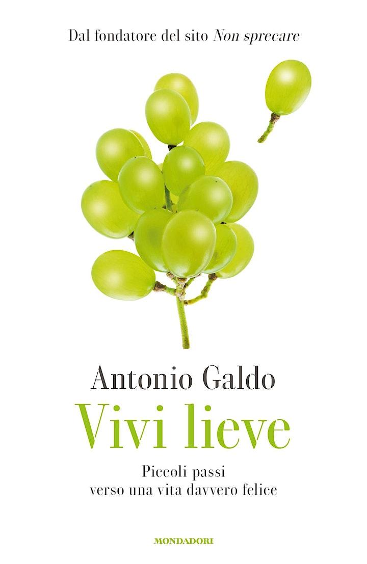 """Immagine Eliseo Cultura: presentazione libro """"Vivi lieve"""" di Antonio Galdo"""
