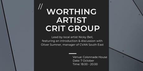 Worthing Artist Crit Group tickets