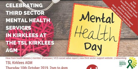 TSL Kirklees AGM: World Mental Health Day tickets