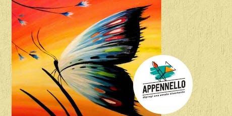 Effetto farfalla: aperitivo Appennello a Milano biglietti