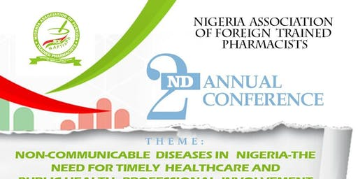 Nigeria Association of Foreign Trained Pharmacist 2nd Annual Conference 2019
