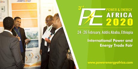 3rd Power and Energy Ethiopia 2020 tickets