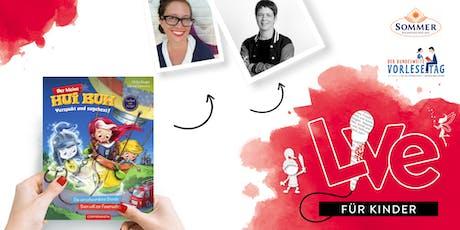 """FÜR KINDER: Unser Vorlesetag mit Simone Veenstra & Ulrike Rogler und """"Hui-Buh"""" Tickets"""