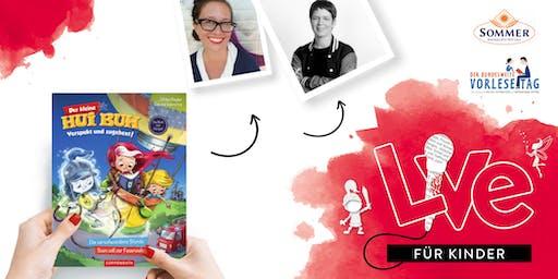 """FÜR KINDER: Unser Vorlesetag mit Simone Veenstra & Ulrike Rogler und """"Hui-Buh"""""""